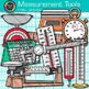 Measurement Tools Clip Art {Volume, Mass, Perimeter, Area