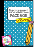 Measurement Tools + Notebook/Journal Package