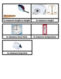 Measurement Tools Picture Sort