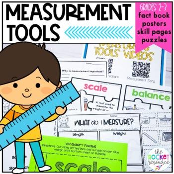 Measurement Tools: Posters, Task Cards, Mini-book, and pra