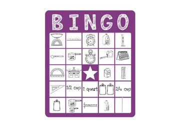 Measurement Tools and Measurement Bingo