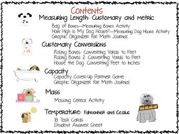 Measurement: Top Dog Measurement Games: NonSMARTBoard Edition