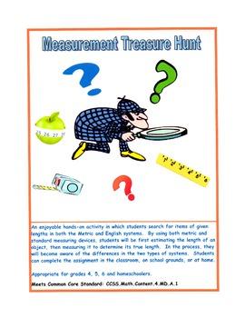 Measurement Treasure Hunt