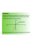 Measurement, Trigonometry and Bearings, SmartNotebook