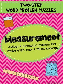 Measurement Two-Step Word Problems