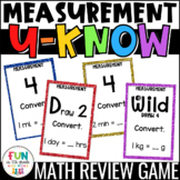 Measurement Game for Math Centers or Stations: U-Know | Measurement Conversions