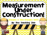 Measurement Under Construction!  Math Measuring Center
