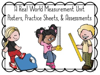 Real World Measurement: Volume, Length and Mass