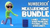 Measurement Activities: Measurement Worksheets, Songs and Review ★ Grade 3, 4, 5