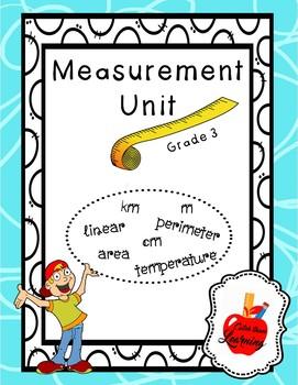 Measurement Unit (Linear, Area, Perimeter, Temperature)