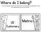 Measurement Unit BUNDLE! QR Codes Included