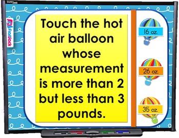 Measurement Unit Conversions SMART BOARD Game (CSS 5.MD.A.1)