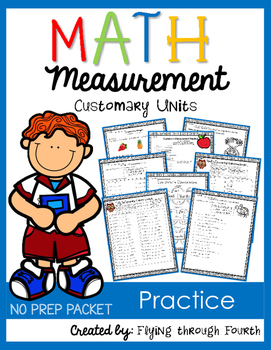 Measurement 30+ Math Practice Printables 4.MD.1 4.MD.2 4.MD.3