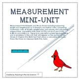 Measurement Unit- Length, Weight/Mass, Customary Capacity,