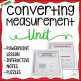 Measurement Unit - 5th Grade CC Aligned {Lessons, Interactive Notes, and More}