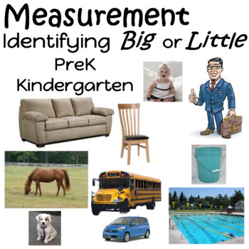 Measurement Unit Prek/KDG. Identifying Big or Little