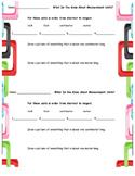 Measurement Unit Quick Assessment/Exit Ticket