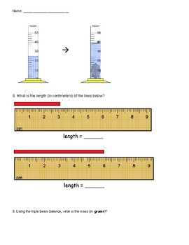Measurement Unit Quiz