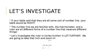 Measurement Unit for Third Grade
