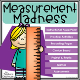 Measurement Unit from Teacher's Clubhouse