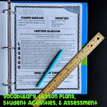 Measurement Unit with Lesson Plans