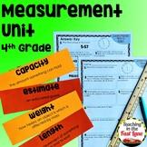 Measurement Unit with Lesson Plans