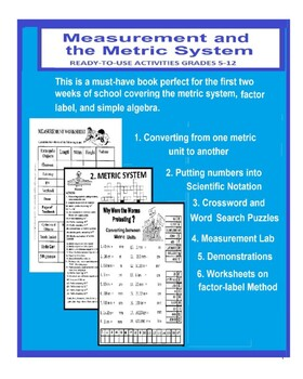 Measurement Unit with Metric System