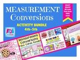 Measurement Units and Conversions Activity Bundle (4.MD.A.1, 4.MD.A.2)