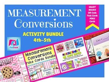 Measurement Units and Conversions Activity Bundle (4.MD.A.