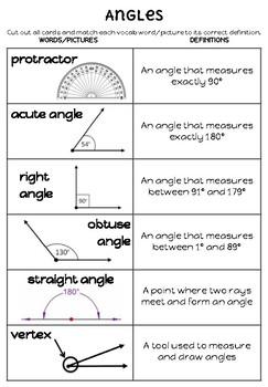 Geometry Vocab