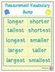 Measurement Vocabulary Bump Game