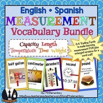 Measurement Vocabulary Bundle