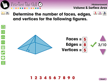 Measurement: Volume & Surface Area - Practice the Skill 3 - MAC Gr. 3-5