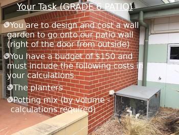 Measurement Wall Garden Project