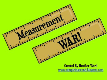 Measurement War: A Game for Comparing Measurements