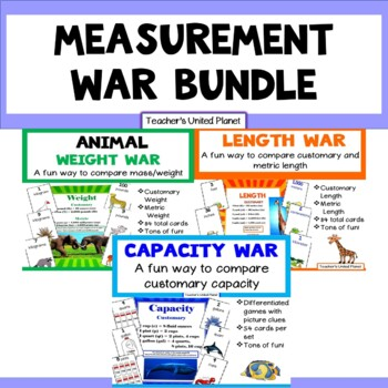 Measurement War Bundle- Length, Capacity and Weight!