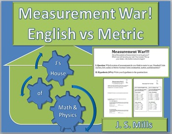 Measurement War--Standard Units vs Metric Units