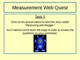 Measurement WebQuest