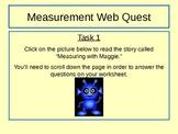 Measurement WebQuest