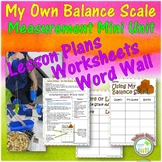 Balance Scale Math Mini Unit