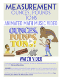 Ounces, Pounds, & Tons | FREE Poster, Worksheet, & Fun Video | 4th-5th Grade