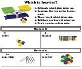 Measurement: Weight- Which is heavier?