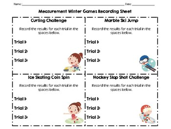 Measurement Winter Games