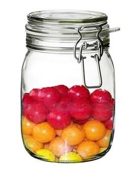 Measurement With Bubble Gum In A Jar:  (Clip Art)