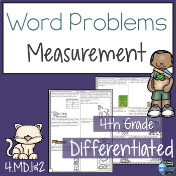 Measurement Word Problems 4.MD.1  4.MD.2
