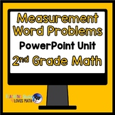 Measurement Word Problems Math Unit 2nd Grade Common Core