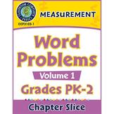 Measurement: Word Problems Vol. 1 Gr. PK-2