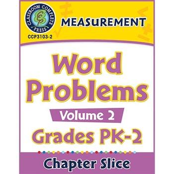 Measurement: Word Problems Vol. 2 Gr. PK-2