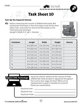 Measurement: Word Problems Vol. 4 Gr. 3-5