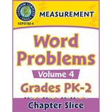 Measurement: Word Problems Vol. 4 Gr. PK-2